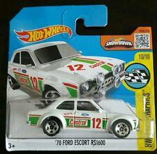 Hot Wheels '70 FORD ESCORT RS1600 Graffiti Castrol Rally WRC