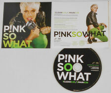 Pink - So What (Clean/Main) - 2008 Promo CD Single