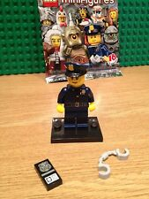 LEGO SERIES 9 POLICEMAN .MINT CONDITION