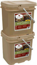 NEW 120 Serving Wise Emergency Survival Supply Kit Freeze Dried Food Meat Bucket