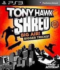 TONY HAWK SHRED Sony PS3 GAME Playstation 3 NEW SkateBOarding Game ONLY