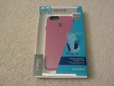 AUTHENTIC + NEW SPECK CandyShell Orchid Purple Black Case Apple iPhone 6 - 4.7""