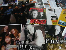 METALLICA - MAGAZINE POSTER/CUTTINGS COLLECTION (REF 3E)