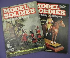 Model Soldier Military Modelling Magazines Vol 2 Nos 1 & 2 1979