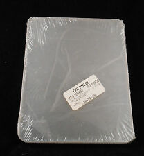 """Demco Acrylic CD Dividers 6 ½"""" x 5 ¼"""" x ⅛"""" Set of 5 Dividers New in Package"""
