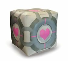"PORTAL - Companion Cube 19"" Inflatable Ottoman (A Crowded Coop) #NEW"
