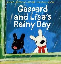 Gaspard and Lisa's Rainy Day (Gaspard and Lisa Books)-ExLibrary