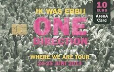 RARE / CARTE TELEPHONIQUE - ONE DIRECTION LIVE CONCERT / PHONECARD