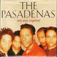 """PASADENAS let's stay together/more time for love 658774 7 uk 1992 7"""" PS EX/EX"""