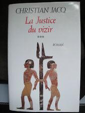 La Justice du Vizir - Christian Jacq - 1997