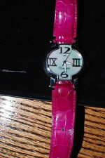 Authentic Faconnable Lady Hydra Stainless Steel watch with Mother of Pearl face