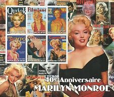 "LARGE MARILYN MONROE HOLLYWOOD LEGEND MINT UNMOUNTED STAMP SHEETLET - 8"" x 7"""