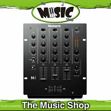 New Numark M4 3 Channel Scratch Mixer - M-4 DJ Mixer