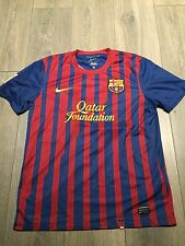 Barcelona Home Shirt 2011/12 Medium Messi 10 Official Rare