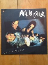 Alice In Chains We Die Young Vinyl LP Promo Original Rare Grunge EP CAS 2095
