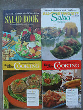 4 Cook Books  Better Homes and Garden  & Family Circle Great Recipes