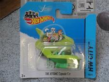 Hot Wheels 2014 #090/250 THE JETSONS Capsule Car green Batch A New Casting 2014
