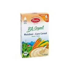 Topfer Bio Organic Corn Cereals With Carrot From 4 month 175 g 6 oz