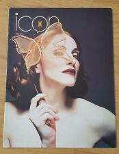 RARE MADONNA ICON FANCLUB MAGAZINE/BOOK ISSUE 31 1999 MAX FACTOR BOYTOY