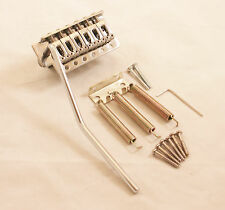 TREMOLO GUITAR BRIDGE FOR FENDER STRAT ETC /35mm BLOCK DEPTH / CHROME