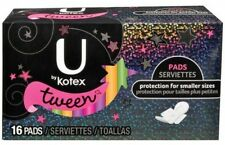 U By Kotex Tween Pads, Unscented