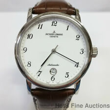 Minty Jacques Lemans Geneve Automatic Date Steel Swiss Watch