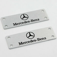 Fit For Mercedes-Benz All Models  Car Logo Floor Mat Carpet Emblem Badge Pedals