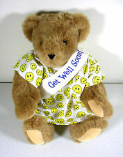 "Vermont Teddy Bear Company Get Well Bear 16"" Gift"