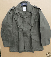 GENUINE DUTCH ARMY ISSUE OLIVE GREEN 'SEYNTEX' COMBAT JACKET -BRAND NEW