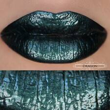 House of Beauty - Lip Hybrid - Dragon - Dark Green With Green Shimmers Lipstick