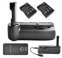 Pro Battery Grip + 2x EN-EL14 + IR Remote For Nikon D3100 D3200 D5100 Camera