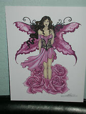 Amy Brown - Pink Rose Faery - OUT OF PRINT
