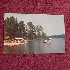 Vintage Postcard Flat Bottom Boats, Gifford Pinchot State Park, Dover, Pa.