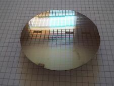 SILICON  Pulled Single Crystal TEST WAFER - 100mm OD -Lot II-z