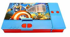 """NEW"" AVENGERS Pencil Case,Stationary  Box For Children, Boys,Christmas Gift"