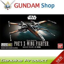 BANDAI Star Wars NO SCALE Vehicle Model 003 Poe s X-Wing Fighter No 206319 JAPAN