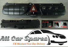 Mercedes C-Class C180 / W203 - Hazard / Door Lock / Seat Tilt Switches / Button