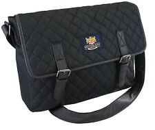 The British Bag Company Quilted Messenger Bag  Gents Gift    22443