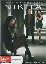 MAGGIE Q: NIKITA Season 3 New/Unsealed 5-DVD Set Region 4  UPC: 9325336176368