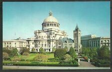 First Church of Christ Scientist Boston Ma. 1962 Postcard 26