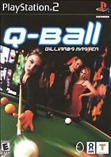Q - Ball - Billards Master   (Sony PlayStation 2, 2000)  Rated E for Everyone