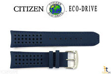 Citizen Eco-Drive AT8020-03L 23mm Blue Leather Watch Band H800-S081165
