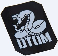 DTOM DONT TREAD COMBAT TACTICAL MORALE MILITARY CAR VEHICLE WINDOW DECAL STICKER