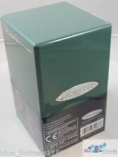 ULTRA PRO GREEN SATIN TOWER DECK BOX COMPARTMENT FOR DICE MTG WoW POKEMON