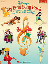 Disney's My First Song Book Sheet Music Vol 2 Piano PVG