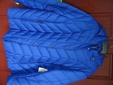 St John's Bay Quality Apparel Ladies Jacket size 3X Exotic Blue Solid w/Hood