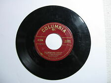 No Wedding Today - Yes Tonight Josephine - Johnnie Ray  45 RPM Record