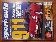 $$t Revue sport auto N°490 Porsche 911  BMW Z4  GP Japon  Le Mans Classic