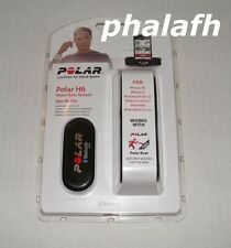 NEW Polar H6 Heart Rate Sensor Black M-XXL 92046233 for ios or android