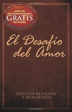 El Desafío del Amor by Stephen Kendrick (Spanish) (Paperback) New Free Shipping